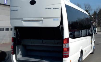 Allestimenti esterni minibus turistici Mercedes-Benz