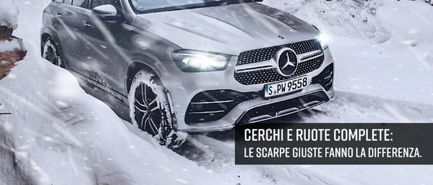 Cerchi e ruote complete Mercedes