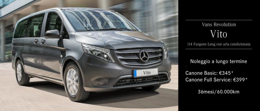 Mercedes-Benz Vito - Noleggio a Lungo Termine