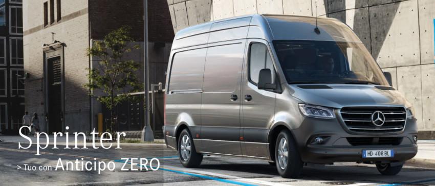 Offerta Mercedes-Benz Sprinter