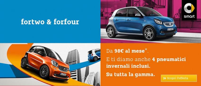 Gamma Smart con pneumatici invernali inclusi nel prezzo