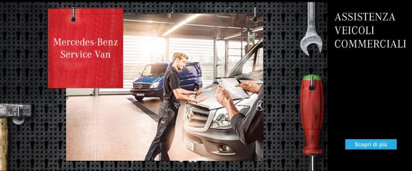Assistenza Veicoli Commerciali Mercedes-Benz