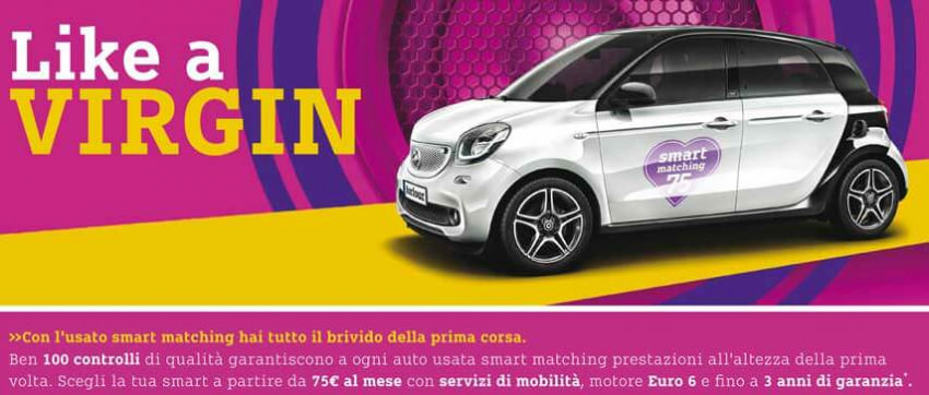 Scopri la Promozione Smart Like a Virgin - Smart Matching