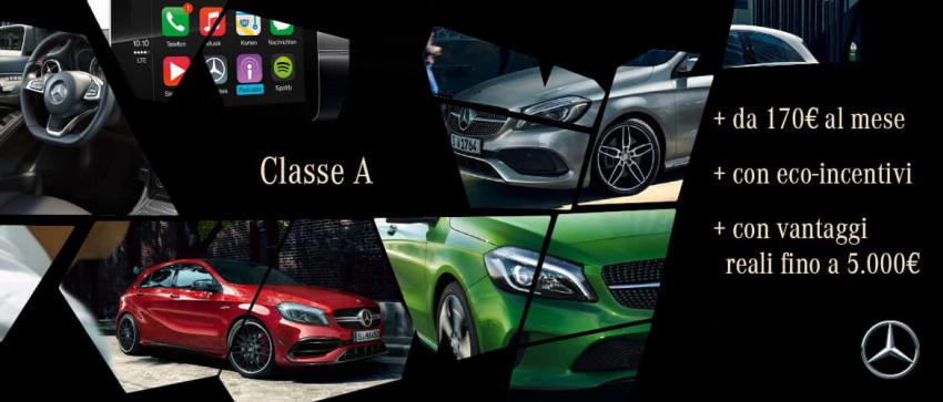 Promozione Mercedes-Benz Classe A