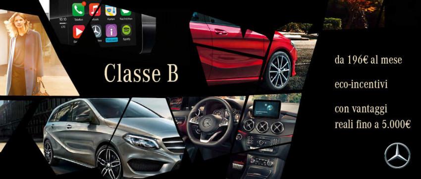 Promozione Mercedes-Benz Classe B