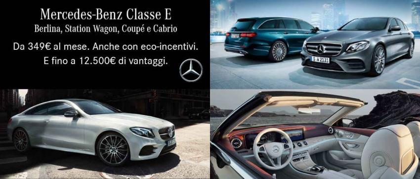 Promozione Mercedes-Benz Classe E