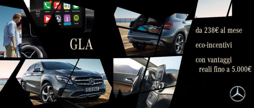 Promozione Mercedes-Benz GLA