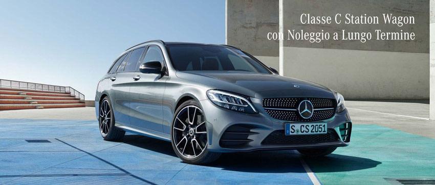Noleggio a lungo termine Mercedes Classe C SW