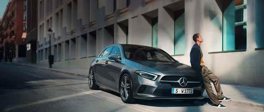 Nuova Mercedes Classe A con Mercedes me.