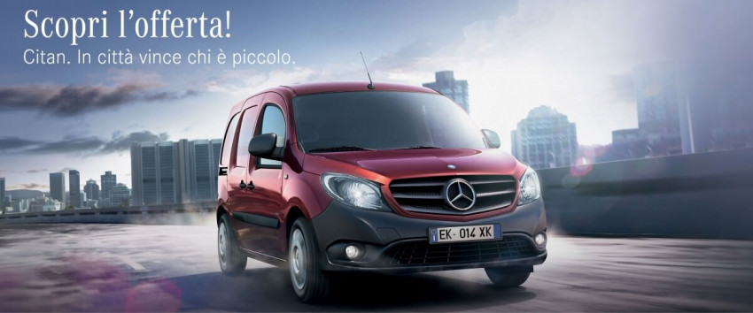 Mercedes-Benz Citan - Da € 150 al mese