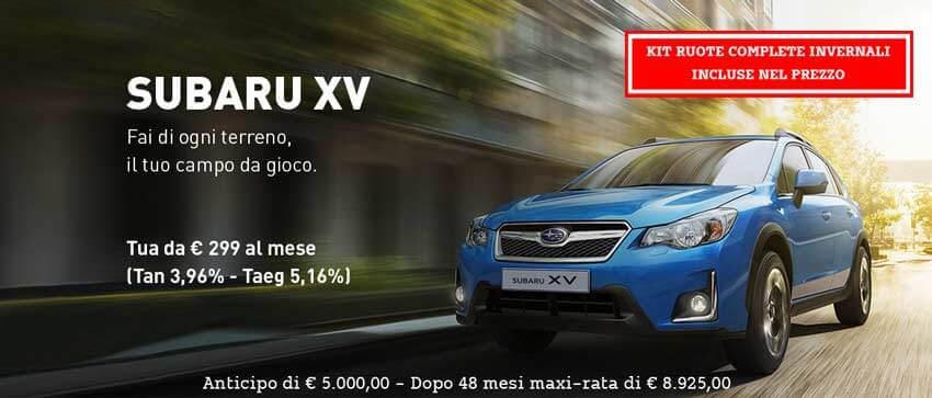 Promozione Subaru XV