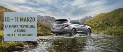 Scopri la Marca Trevigiana, a bordo della tua Subaru, in un fantastico tour di due giorni.