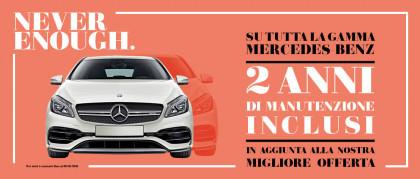 Carraro Never Enough: 2 anni di manutenzione inclusi su tutta la Gamma Mercedes-Benz