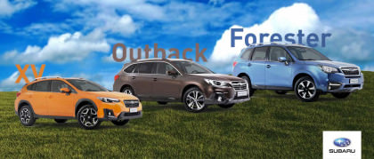 Summer Subaru: fino a 8.000€ di vantaggio per te
