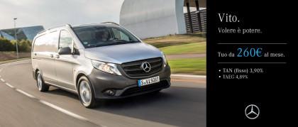 Mercedes-Benz Vito. Tuo da 260€ al mese