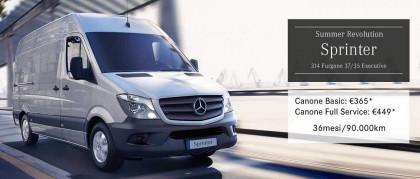 Mercedes-Benz Sprinter - Noleggio a Lungo Termine