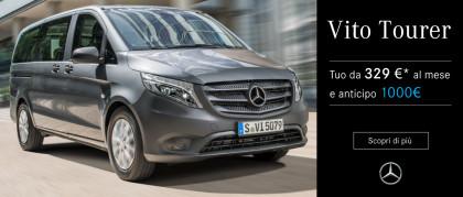 Mercedes-Benz Vito Tourer. Tuo da 329€ al mese