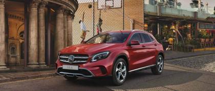 Mercedes GLA. Fai strada ai tuoi sogni.