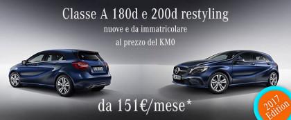 Mercedes-benz Classe A 200d a Partire Da 151€/mese