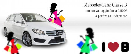 Mercedes-benz Classe B 180d A Partire Da 186€/mese