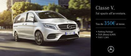 Mercedes-Benz Classe V - Da € 350 Al Mese