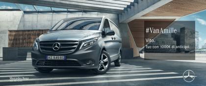 Mercedes-Benz Vito. 2 anni di RCA inclusi e solo 1000€ di anticipo