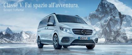 Mercedes-Benz Classe V - Da € 250 Al Mese
