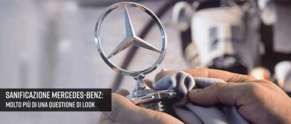 Sanificazione Mercedes-Benz