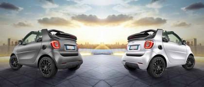 Nuova smart cabrio suitegrey: bella scoperta