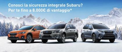 Conosci la sicurezza integrale Subaru?