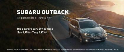 Promo Subaru Outback