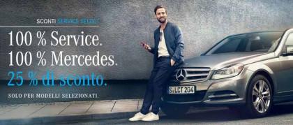 Tagliandi Mercedes: scopri Service Select