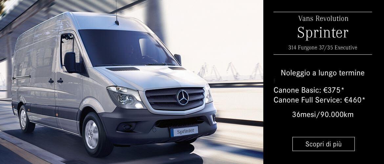 Liberati dai pensieri col noleggio targato Mercedes-Benz CharterWay