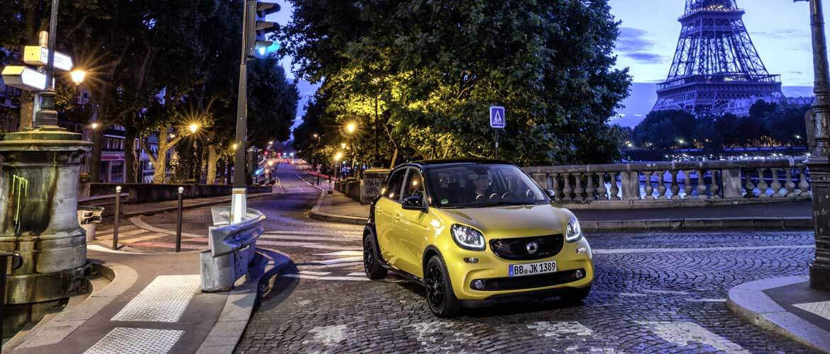 Lunghezza smart forfour