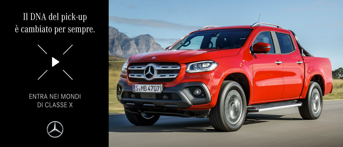 NUOVO PICK-UP MERCEDES