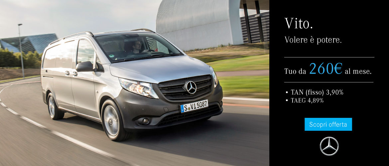 Mercedes-Benz Vito Offerta