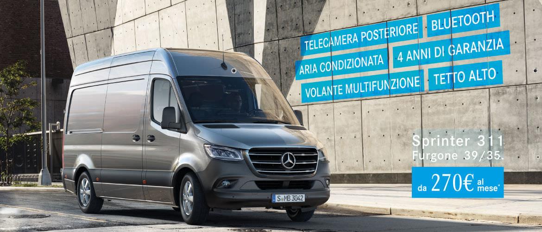 Promozione Mercedes-Benz Sprinter Carraro