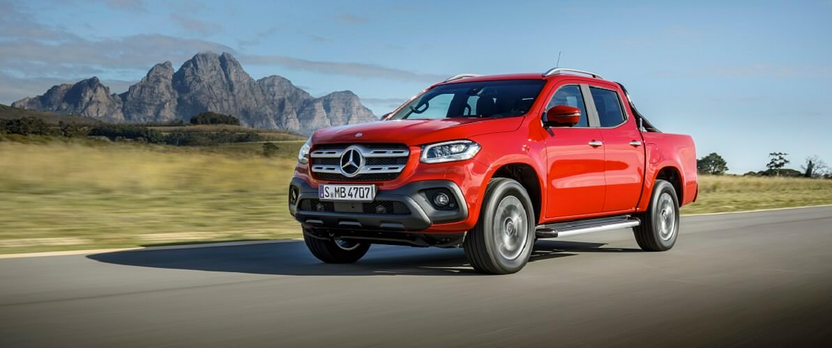 Nuovo pick-up Mercedes-Benz