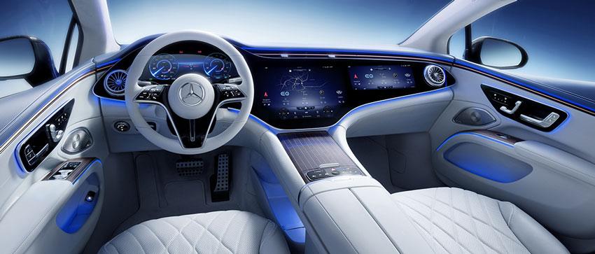 Interni Mercedes EQS