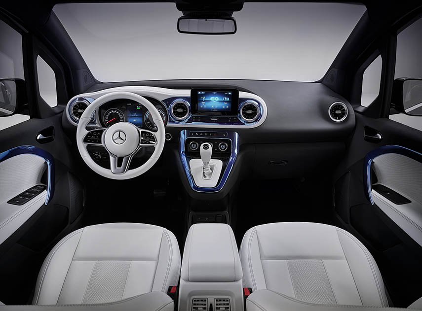 Mercedes EQT Interni
